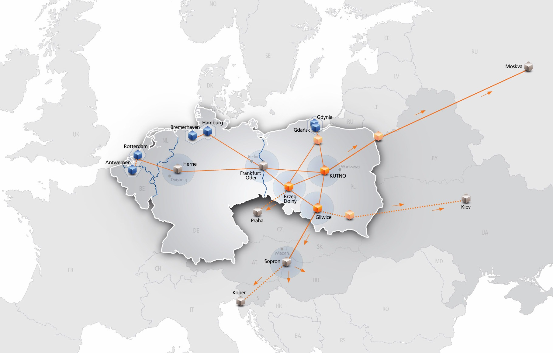 PCC Intermodal connects Hungary and Austria