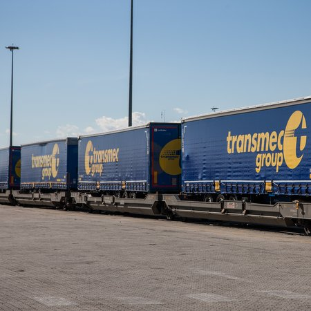 P&O Ferrymasters and Transmec Group develop a new intermodal service between Italy and Romania