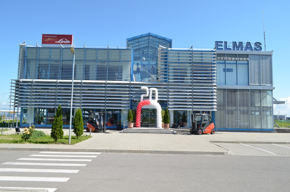 Elmas launches the first forklift upcycling center in Romania
