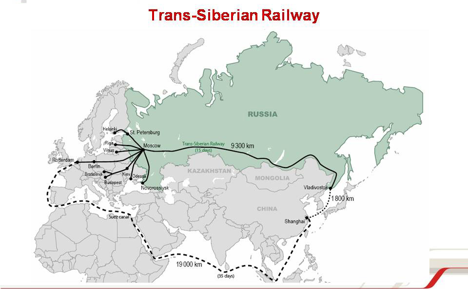 Russia's main Siberian rail line reaches 100-year mark!