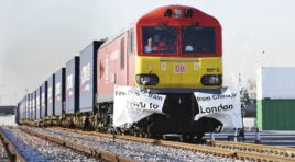 New Asian freight train to bring good business to Europe