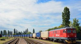 First intermodal train connecting Romania to Poland