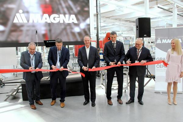 Magna opens new seating factory in Czech Republic