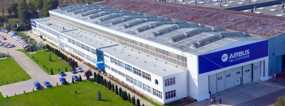 Airbus Helicopters company opens new factory in Romania