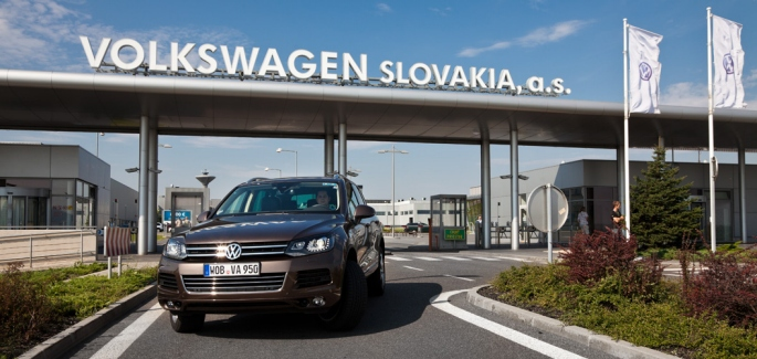 Volkswagen to have new logistics center in Slovakia