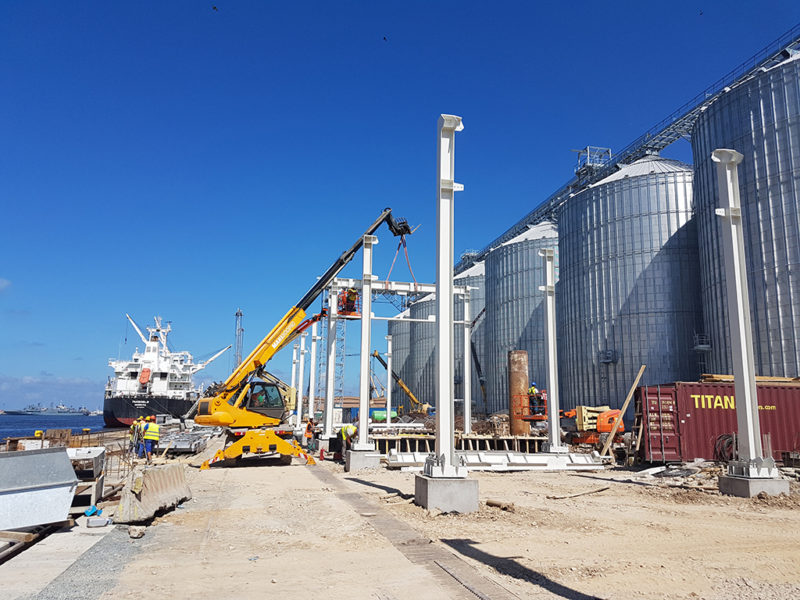 Port of Constanța to make use of grains terminal in mid-2018
