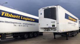 Tibbett Logistics renews the Romanian fleet