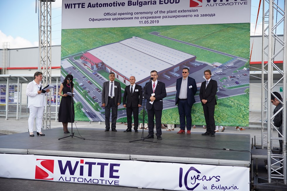 WITTE Automotive expands Bulgarian factory