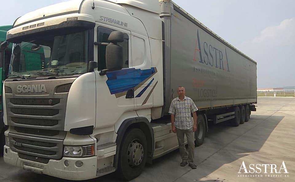 AsstrA completes first direct shipment in China using its own truck